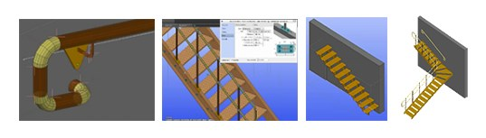 Advance BIM Designers - Steel Stair & Railing Designer