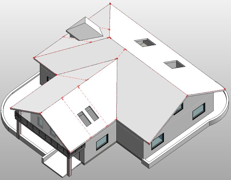 Roof Panel Layout